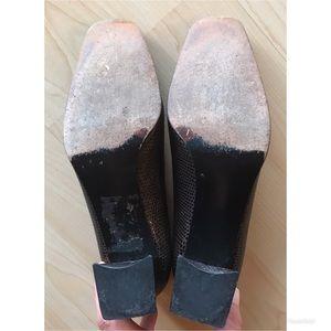 Stuart Weitzman Shoes - STUART WEITZMAN Brown Snakeskin Heels Sz 6.5B $398